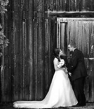 WEDDING DRESS, EUROPEAN STYLE, 2 PIECE, HALTER