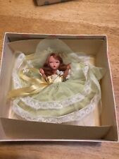 Vtg Storybook Doll by Nancy Ann Family Series Bridesmaid #87 Bisque w/Arm Tag