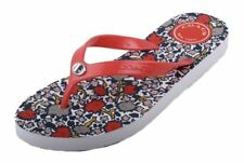 Coach Allison Womens Coral Print Flip Flop Sandals 10 M US