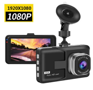 Video Recorders Dash Cam Car DVR 1080P Cycle Recording Night Vision Wide
