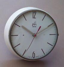 Pendulette JAPY ELECTRIQUE métal vintage ancienne pendule cuisine horloge MARCHE