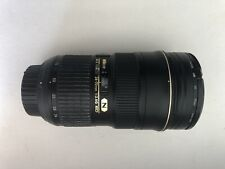 Nikon AF-S Nikkor 24-70mm f/2.8G ED (en excellent état)