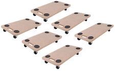 1-6 Transportroller Möbelroller Rollbrett Möbelhund 200kg Transportwagen Roller