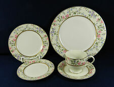 "28-PIECES OF MIKASA ""SPRING MOIRE"" PAT #LAP11 FINE CHINA"