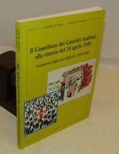 F. D'Atteo P. Massaro: Andriesi, Vittoria del 1948 - Andria 1998 Dedica Autore