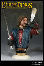 Lord of the rings Weta Sideshow king Boromir legendary Bust statue rare orc