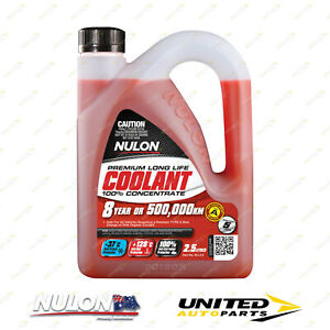 NULON Red Long Life Concentrated Coolant 2.5L for LEXUS IS200 2.0L 1G-FE ine