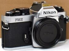 *** NEW, NEVER USED  *** Nikon FM2N 35mm Chrome Camera Body
