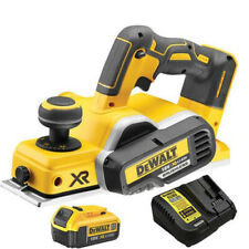 Dewalt DCP580N 18V Li-ion Brushless Planer With 1 x 4Ah DCB182 Battery & Charger
