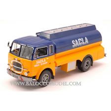 FIAT 682N 1966 CISTERNA SACLA FUEL TRASPORTER 1:43 Ixo Model Camion Die Cast