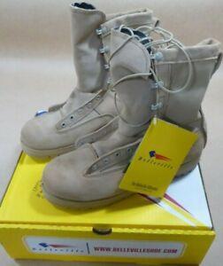 NEW Belleville 790G Men's Waterproof Military Combat Boots TAN - 10.5R 10R 4R