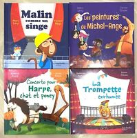 Lot de 4 livres Mc Do / Mac Do Happy Meal Katherine Pancol Marc Levy