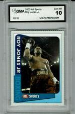 2003 Roy Jones JR All Sports Boxing Gem Mint 10