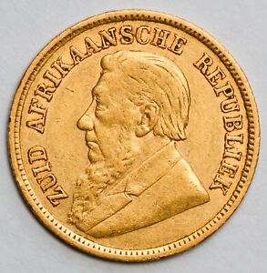 1898 SOUTH AFRICA Boer Republic Gold Kruger Pond - Sovereign Weight