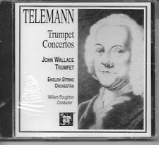 TELEMANN: TRUMPET CONCERTOS John Wallace CD New, Sealed