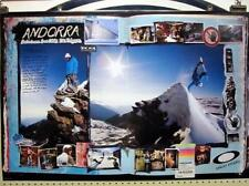 OAKLEY 2008 Craven Ettala Helgason Snowboard Poster New Old Stock Flawless