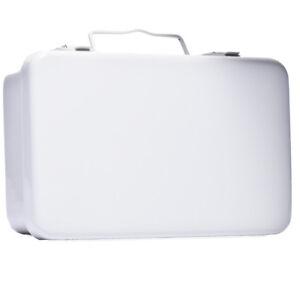 First Aid Box #10 Metal Unitized Kit Empty