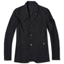 Stone Island 3L Performance Cotton Ghost Blazer Jacket In Navy BNWT