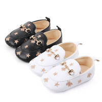Baby Shoes Boy Girl Bee Moccasin Soft Crib Infant Toddler Newborn Babe Prewalker