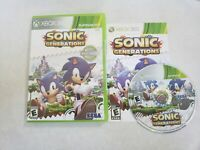 Sonic Generations, (Xbox 360) Complete in Very Good Condition Fast Shipping
