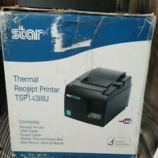 Star Micronics Tsp100 Tsp143iiiu Receipt Printer