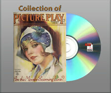 Collection of Picture-Play Magazine 1923 - 1929 Maret-August Book On CD