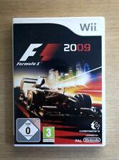 Formula 1 F1 2009 Nintendo Wii Game FREE P&P
