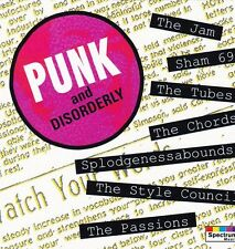 Punk & Disorderly : Various, The Jam, The Tubes and The Chords (1993) CD