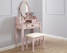Beautiful Antique Style Dressing Table Set Available in 6 Colours