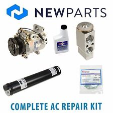 For Mitsubishi Outlander Complete AC A/C Repair Kit w/ NEW Compressor & Clutch