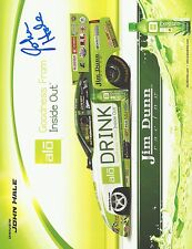 John Hale Signed 8X10 Photo Nhra Jim Dunn Racing Autograph Nitro Funny Car
