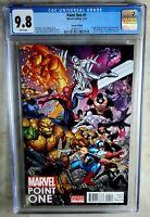 Marvel Point One #1 Bradshaw Variant Alexander 2012 CGC 9.8 NM/MT WP Comic M0089