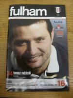 03/02/2007 Fulham v Newcastle United  . Thanks for viewing this item, buy with c