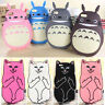 3D Animals Cartoon Soft Rubber Back Skin Silicone Phone Case Cover For iPhone