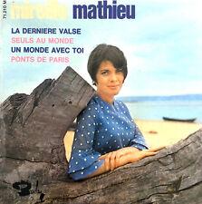 """Mireille Mathieu 7"""" La Dernière Valse - France (EX/EX)"""