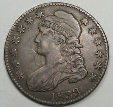 1833 BUST HALF Dollar. #48