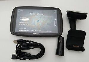 TomTom GO 6100 World 152 Länder Lifetime Maps HD-Traffic Tap & GO GPS