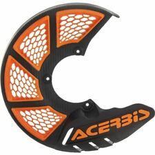 Black/Orange (16) Acerbis X-Brake 2.0 Vented Front Disc Cover