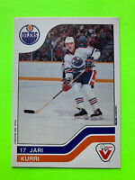 Vachon Cake Hockey Card 1983 Jari Kurri #31 Edmonton Oilers