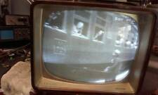 "WORKING 1960 VINTAGE 21TX250A PHILIPS 21"" TV WOODEN CASE TELEVISION SET MUSEUM"