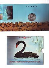 1990 $10 Silver UNC Coin Australian State Series Western Australia WA *