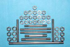 Triumph 350/500 Unit Eng Plate Studs Nuts Stainles F2825 E3695 F3665 E3812 E3804