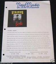 STRAWBS 'GHOSTS' 1975 PRESS RELEASE