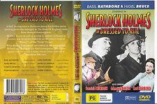 Sherlock Holmes:In Dressed To Kill-1946-Basil Rathbone-Movie-DVD