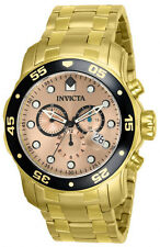 InvictA 80063  Chronograph Gold PRO  DIVER 200 M SWISS Ret.$795 0072 A 0074 NEW