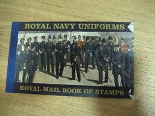 DX47  PRESTIGE BOOKLET ROYAL NAVY UNIFORMS  STAMPS