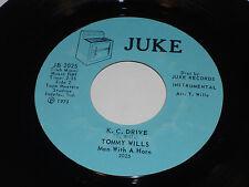 "TOMMY WILLS VG++ Kansas City 45 K.C. Drive JB-2025 Juke 7"" Vinyl Funk Soul"