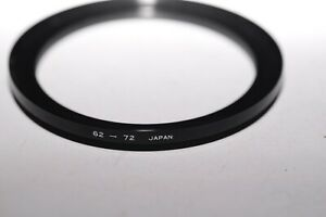62mm to 72mm Filter Step Up Ring