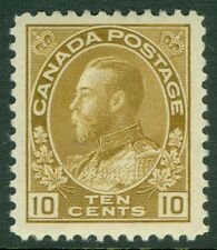 EDW1949SELL : CANADA 1911-25 Unitrade #118 Large margined XF MNH Cat $180.