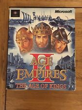 Age of Empires II 2 - The Age of Kings - BIG BOX- PC CD-ROM